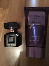 KATE MOSS VINTAGE MUSE GIFT SET. SPRAY 15ML & BODY LOTION 150ML.USED