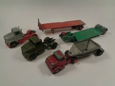 Matchbox Lesney King Size Ford Tractor Low-Loader 1973