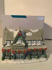 Partylite Candle Shop Christmas Village Tealight Candle Holder P0266 Decor