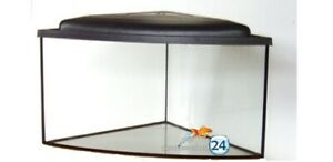 Eck-Aquariumset  57x57x40 cm  GS 6 mm  10 Jahre Garantie (*)  Eig.Lieferservice