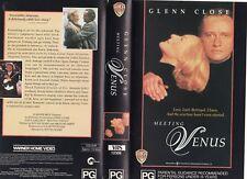 MEETING VENUS - Glenn Close - VHS - PAL -NEW -Never played! -Original Oz release