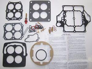1954 1955 1956 Buick Super, Skylark Carburetor Rebuilding Kit | Carter Complete