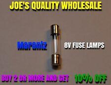 (1)FUSE LAMPS 8v 200mA/250mA/BULB VINTAGE RECEIVER STEREO-2270 2230 2325 Marantz