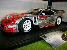 TOYOTA SUPRA JGTC 2003 ZENT TOM'S # 37 grise et rouge au 1/18 AUTOart 80316