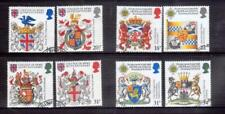 GREAT BRITAIN 1984 + 1987 Arms sets used