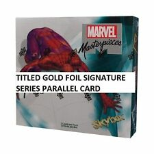 BASE SET 1 Ultimate Spider-Man Card Marvel Masterpieces 2016 Joe Jusko #/1999