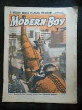 The Modern Boy (July 22nd 1939) Vintage Boy's Comic/Stories - Alfred Edgar, etc