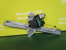 PEUGEOT 308 MK1 (08-17) PASSENGER SIDE FRONT WINDOW REGULATOR & MOTOR 5DR