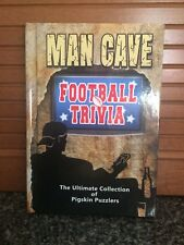 Man Cave Football Trivia-The Ultimate Guide of Pigskin Puzzlers (Hardback)