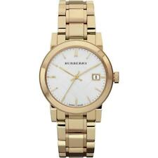 Burberry  Women's Swiss Gold-Tone Stainless Steel Bracelet 34mm BU9103 Watch