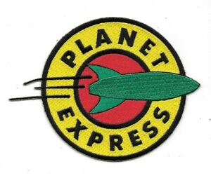 Futurama Planet Express Logo Embroidered Patch - New