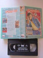 Teen Wolf Too de Christopher Leitch avec John Astin, VHS, Comédie, RARE!!!