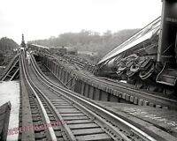 Photograph of the 1933 Crescent Limited Train  Wreck / Accident   8x10