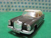 Rare Faller 1:43 - MERCEDES-BENZ 220 SE Cabriolet  -  OVP Germany 70er Jahre MIB