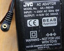JVC AC Adaptor AA-R604B 6v 350mA Camera Charger Power Supply Adapter