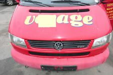 VW T4 Transporter Caravelle Lang Motorhaube Haube Klappe vorne rot LY3D