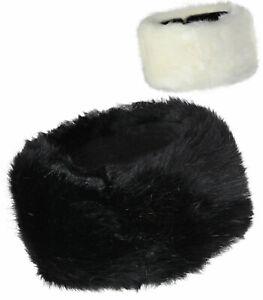 Damen Stirnband Winter Kunst-Fell Fleece Ohrwärmer Kopfband warm Haarband fjjae1