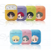 BTS Official Authentic Goods CHARACTER BASIC HERD HARD Airpods CASE + Tracking#