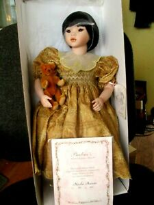 "Pauline Bjoness-Jacobsen Nicola Husain Oriental 22"" Porcelain Doll #305 of 900"