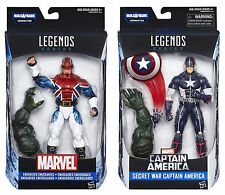 MARVEL LEGENDS CIVIL WAR: CAPTAIN BRITAIN & SECRET WAR CAPTAIN AMERICA