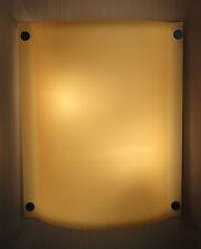 LBL Lighting Stingray Wall Sconce Amber Murano Glass JW6026AM Flos Artemide Era