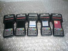 LOT OF 5 Casio IT9000E-C25E Industrial Handheld Printer Scanner  READ AD AS IS
