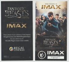 Fantastic Beasts First Showing Movie Ticket Regal xxx of 1000