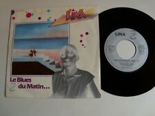 "LINA (Giani) : Le Blues du matin 7"" 45T French ATROPA ACX 135073 Claude Vallois"