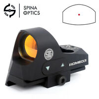 Tactical Red Dot Reflex Sight Scope 3 MOA 1X25mm with 20mm Picatinny Mount