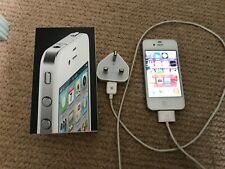 iPhone 4 White 8Gb Unlocked - Excellent Condition