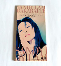 SANDY LAM Dakaratte JAPAN 3inch PROMO CD Single 1993 PIDL-1085