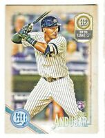 2018 Topps Gypsy Queen #277 MIGUEL ANDUJAR RC Rookie Yankees QTY AVAILABLE