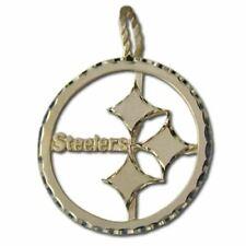 14 kt Gold Pendant Pittsburgh Steelers Logo (large)