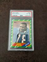 1986 Topps Bruce Smith rookie #389 PSA 6 EX-MT - Buffalo Bills Legend
