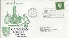 1963 Cameo issue #403 FDC with Beaver Eating Parliament cachet