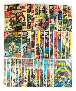 Tales To Astonish #58-101 Lot (1964 Marvel) Hulk & Sub-Mariner, Most in VF+ Cond