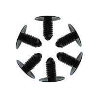 "50x Fit 5/16"" Hole Push In Fastener Rivet Bumper Fender Retainer Car Accessories"
