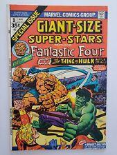GIANT-SIZE SUPER-STARS #1 (VG/F) 1974 FANTASTIC FOUR! THING VS. HULK COVER & APP