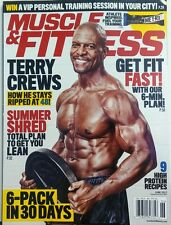 Muscle & Fitness June 2017 Terry Crews Get Fist Fast Training FREE SHIPPING sb