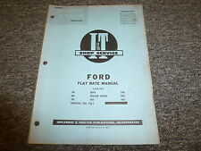 Ford 700 800 900 Naa Major Diesel 600 2N 8N 9N Tractor Flat Rate Manual Fo7