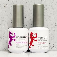 LeChat Nobility Kit Soak Off UV Gel Polish Colors Lot SET OF 2 - 0.5oz SHIP 24H