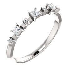Jewelry White Sapphire Rings Size 7 Elegant 925 Silver Wedding Rings Women