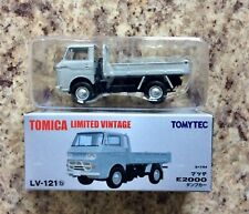 Tomica Limited Vintage Mazda E2000 Dump Truck Lv-121b Gray Tlv 1/64