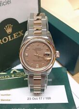 Rolex Datejust Lady 26mm 179161 Steel & Rose Gold - Goldust M.O.P Dial - B&P!