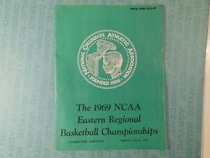 1969 NCAA East Regional basketball program, UNC, St. John's, Davidson, Duquesne