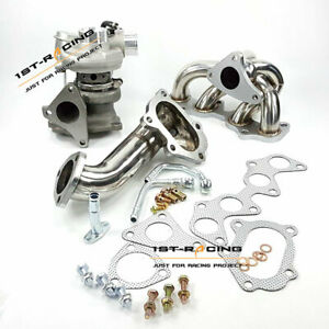 Fit Toyota EP82 EP85 EP91 4EFTE Starlet 1996-99 TD04 Turbo +Manifold+Down Pipe