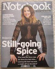 Melanie C – Notebook magazine – 27 November 2016