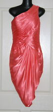 NWT Womens size 4-6 apricot one shouldered cocktail dress - LIGHT IN THE BOX