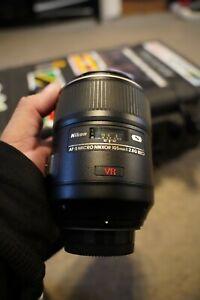 Nikon MICRO AF-S VR Micro-NIKKOR 105mm f/2.8G IF-ED Lens