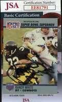 Randy White 1990 Pro Set Jsa Coa Hand Signed Authentic Autograph